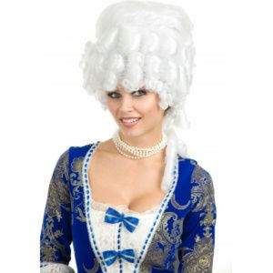 Colonial Maiden Adult Wig - One Size Fits Most NEW